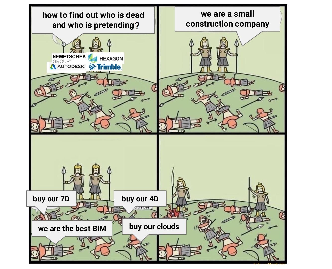 Как узнать кто уже мёртв, а кто ещё нет? Мы маленькая строительная компания.