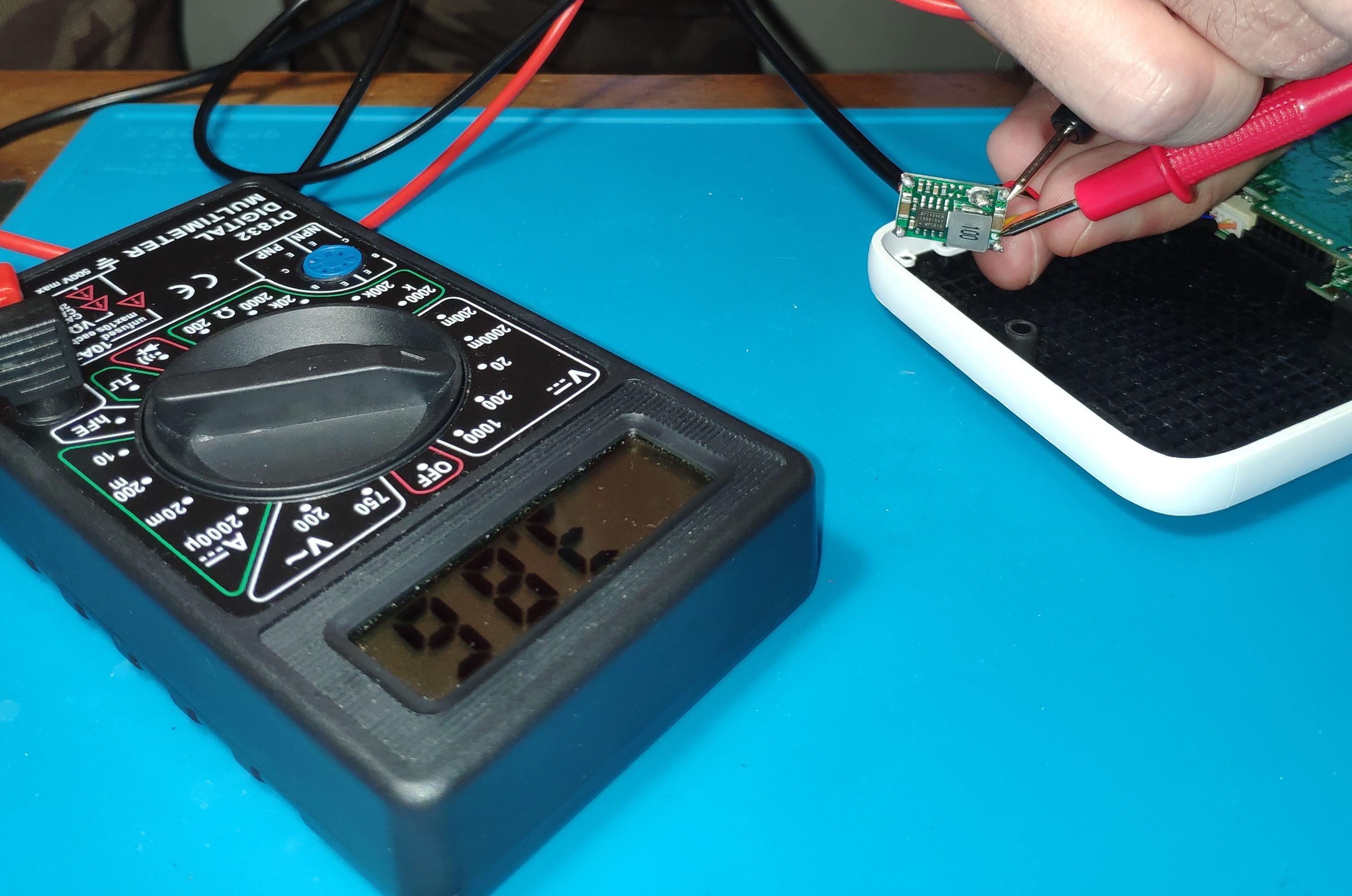 С 4 вольт без нагрузки просел до 3.86 под нагрузкой