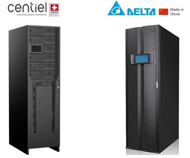 Модули «Cumuluspower» (Centiel) имеют индивидуальный и общий дисплеи. Модули «DPH» (Delta) обладают только общим дисплеем