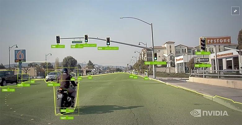 Распознавание объектов нейросетью на системах Nvidia
