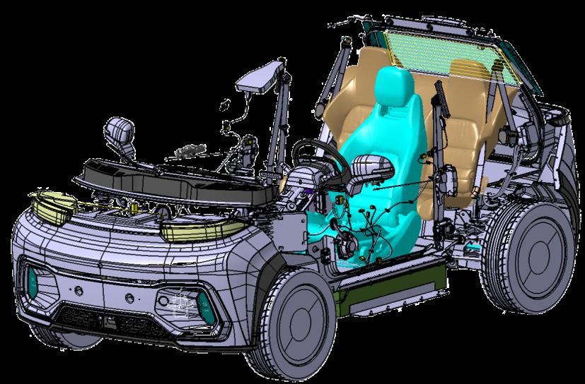 Цифровой макет «Кама-1»