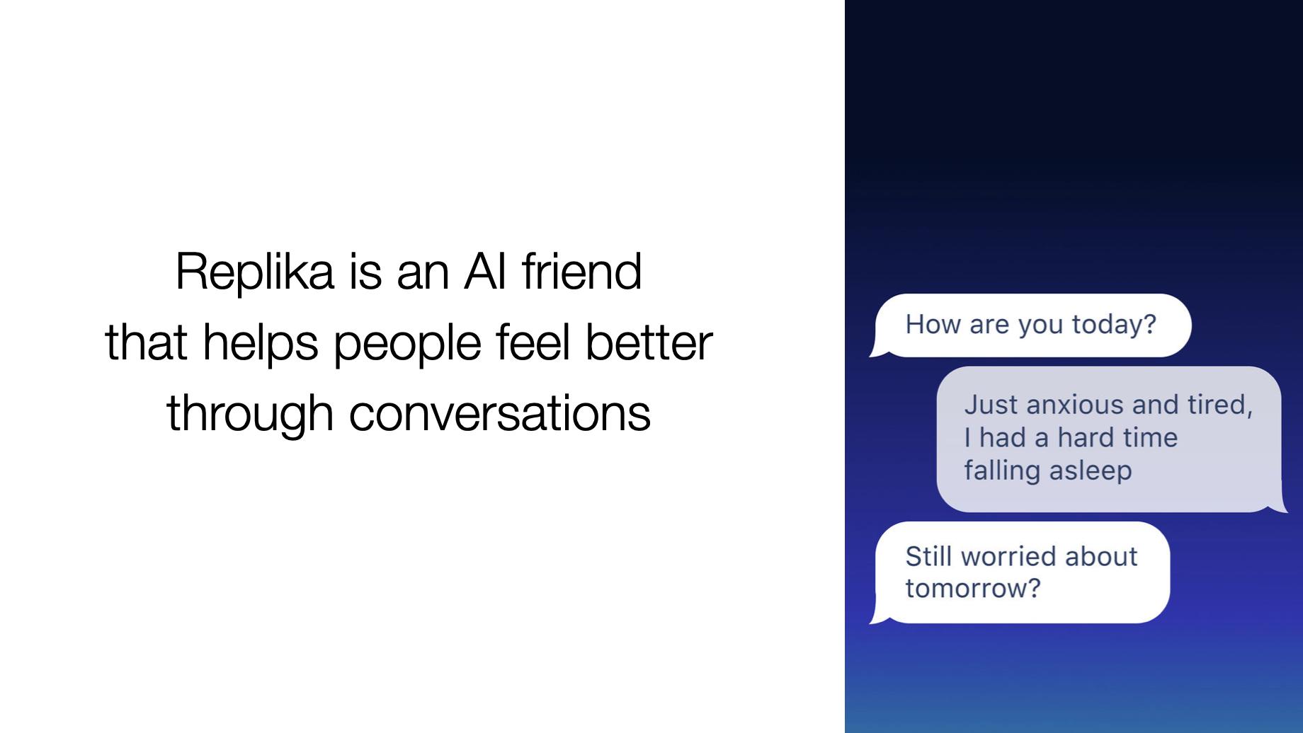 Как построить AI друга. Расшифровка доклада