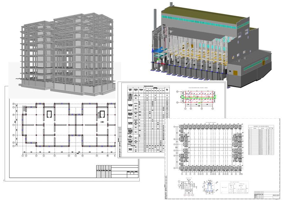 Автоматическая генерация чертежей в Model Studio CS Строительные решения