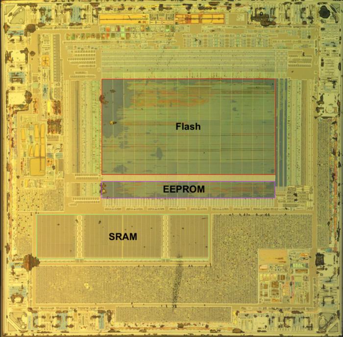 Перевод Рассматриваем отдельные биты на снимке микросхемы как действовать, когда архитектура неизвестна