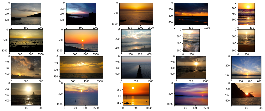"""""""a picture of a sunset near the sea"""""""