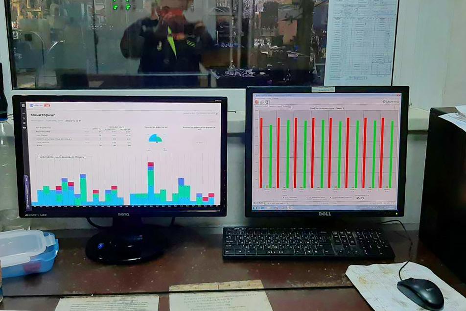 Конвейер  уникальная система мониторинга и управления для конвейерного производства