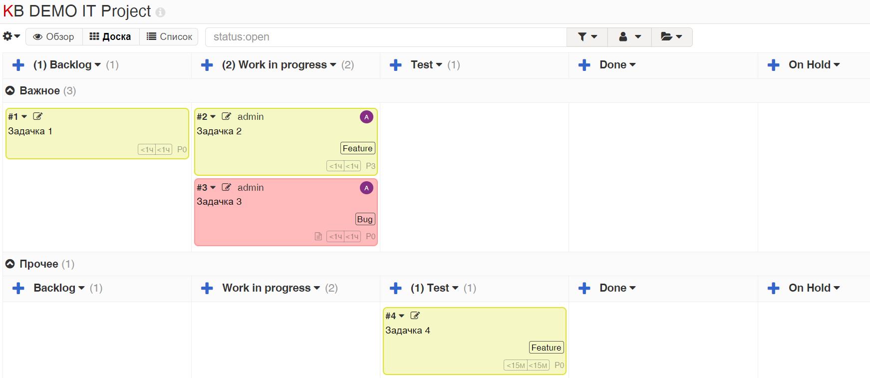 Kanboard  бесплатный инструмент для отслеживания задач с поддержкой Kanban