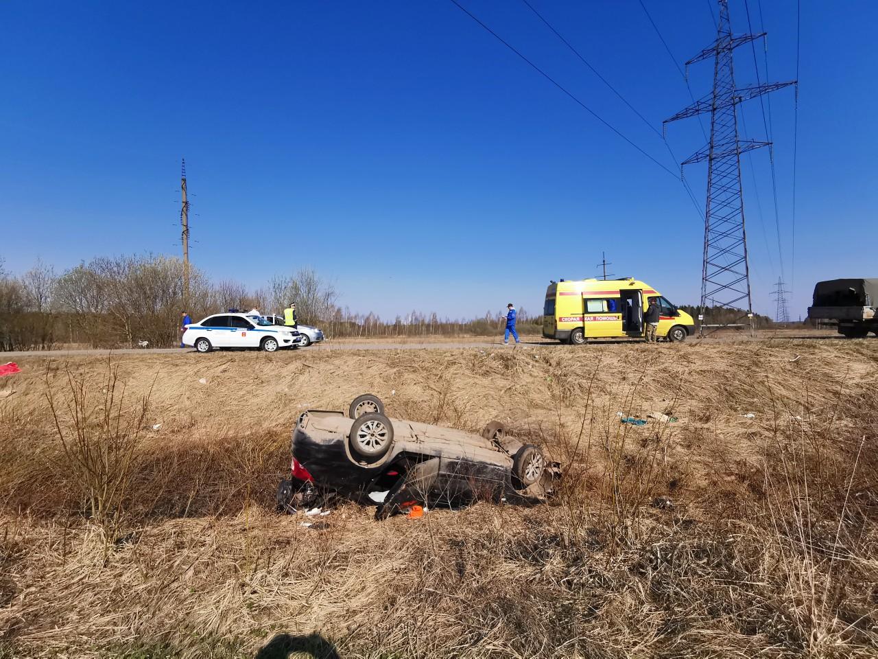 Пьяный водитель в Тверской области вылетел в кювет. Сообщество