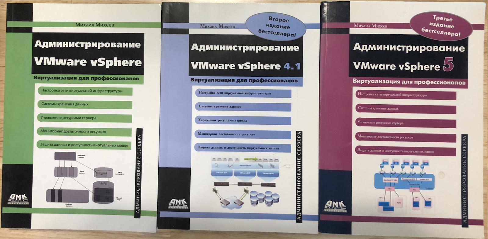 Интервью с Михаилом Михеевым, автором первой книги на русском по vSphere
