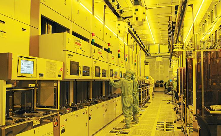 Завод по производству полупроводников TSMC в Тайване. Завод производит чипы для AMD, Apple, Nvidia и Qualcomm.