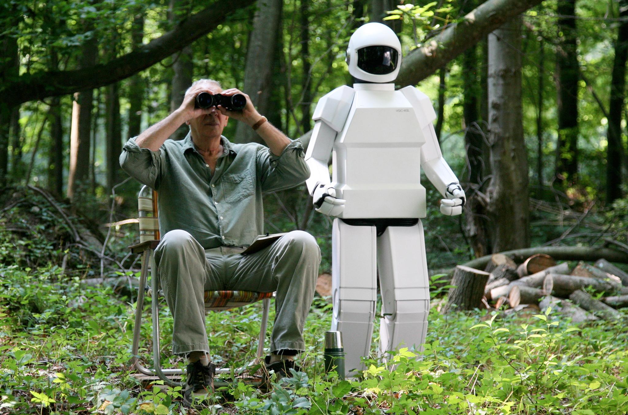 В течение фильма Робот и Фрэнк стали хорошими друзьями