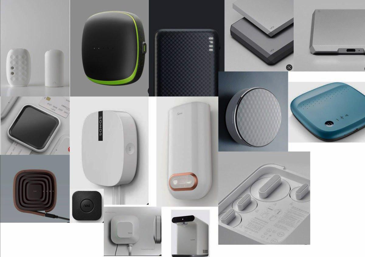 Тенденции в дизайне похожих устройств