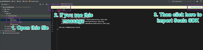 Import Scala SDK in IntelliJ