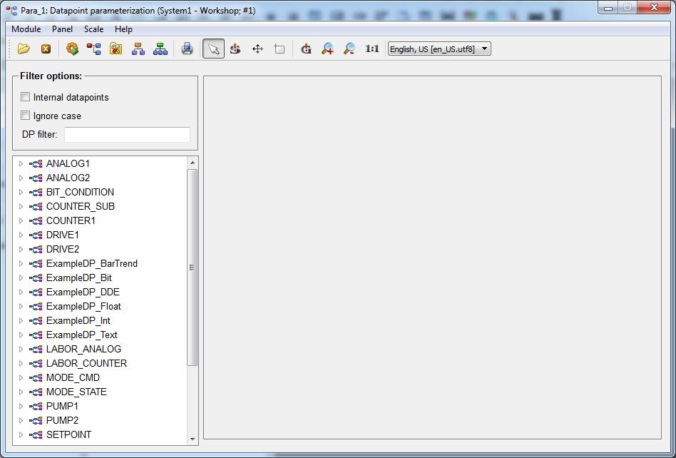 Модуль редактирования данных para