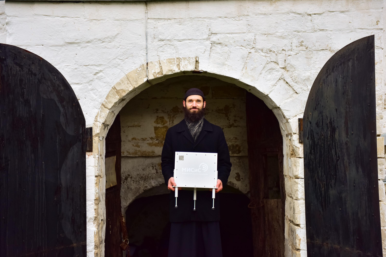 Скан монастыря