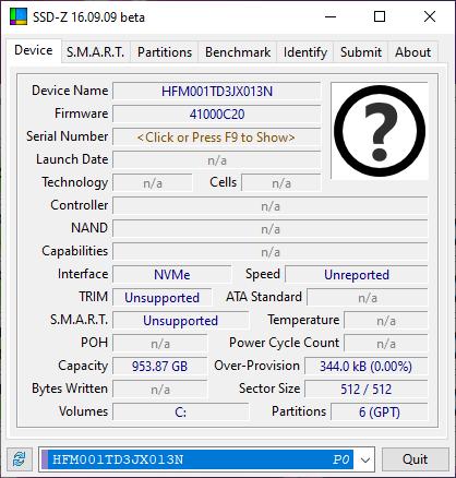SSD ROG Strix G17