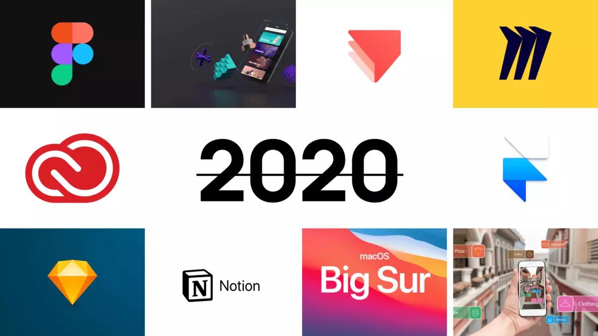 Вспоминаем все важные события в UIUX дизайне за 2020-й