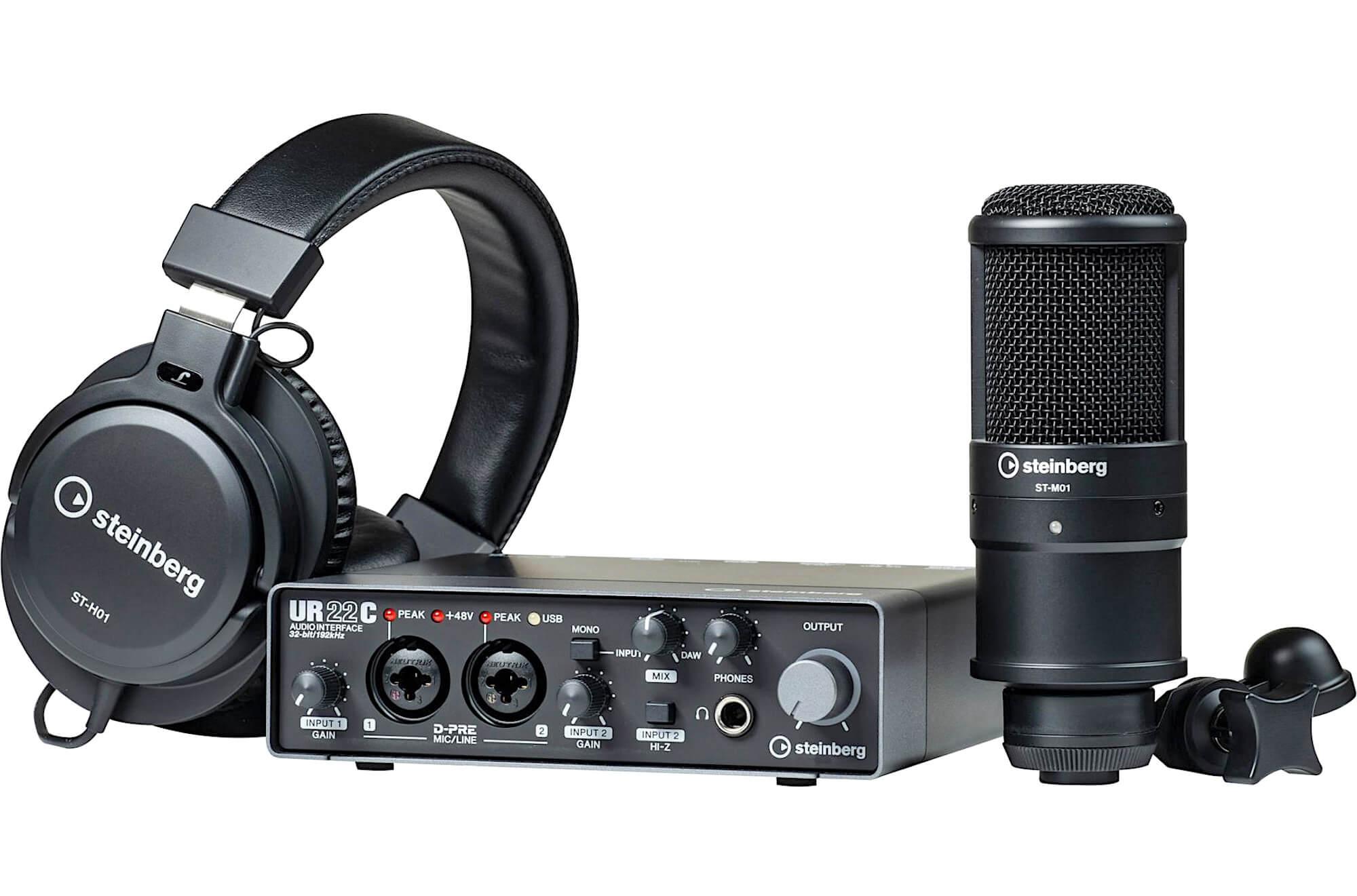 Комплект Steinberg UR22C Recording Pack Audiomania.ru