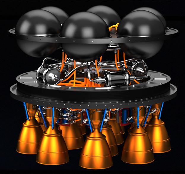 Общий вид модуля с турбогенератором