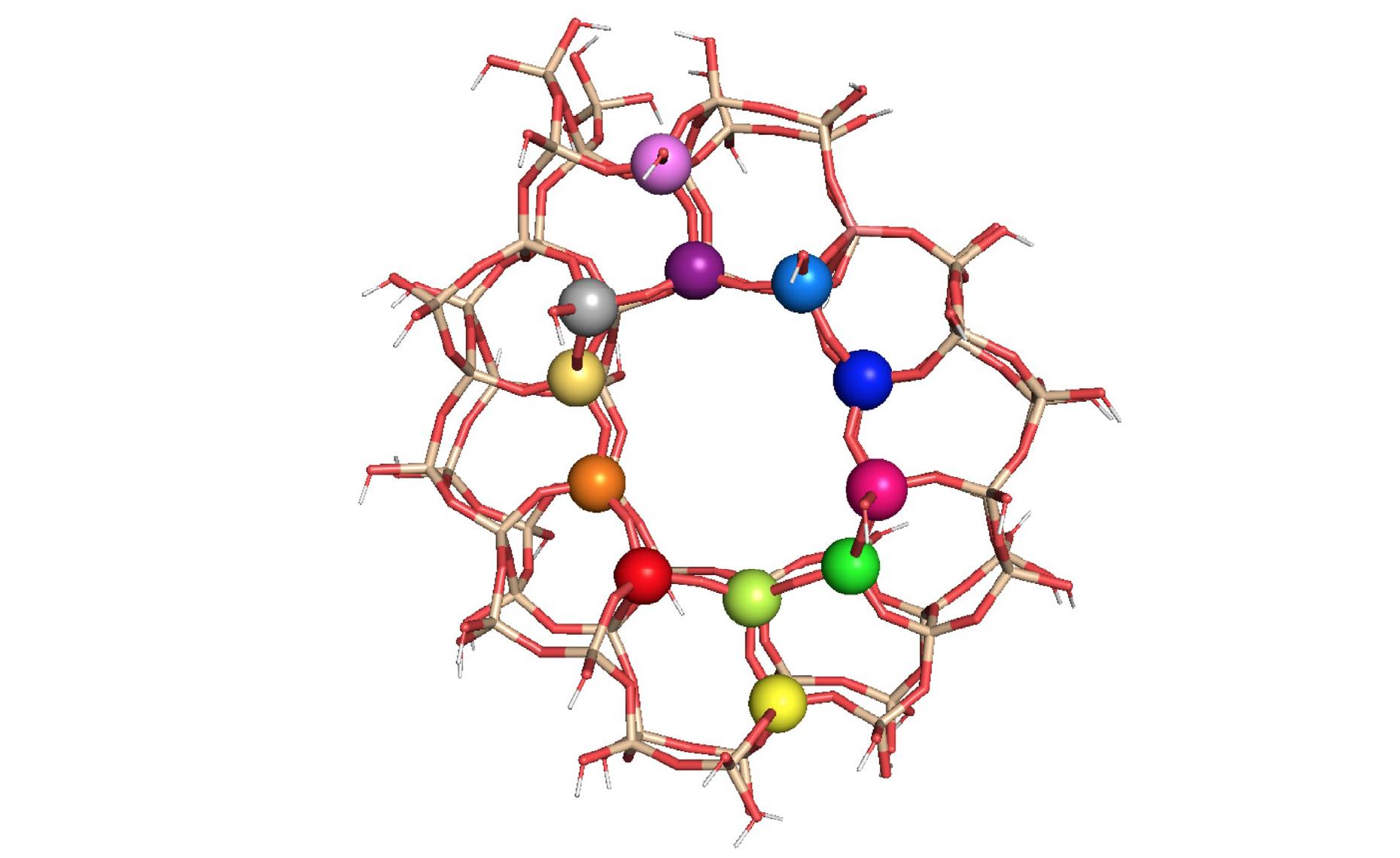 Молекулярная структура ST-1