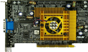 ASUS V8200 DLX (NVIDIA GeForce3), 2002 год