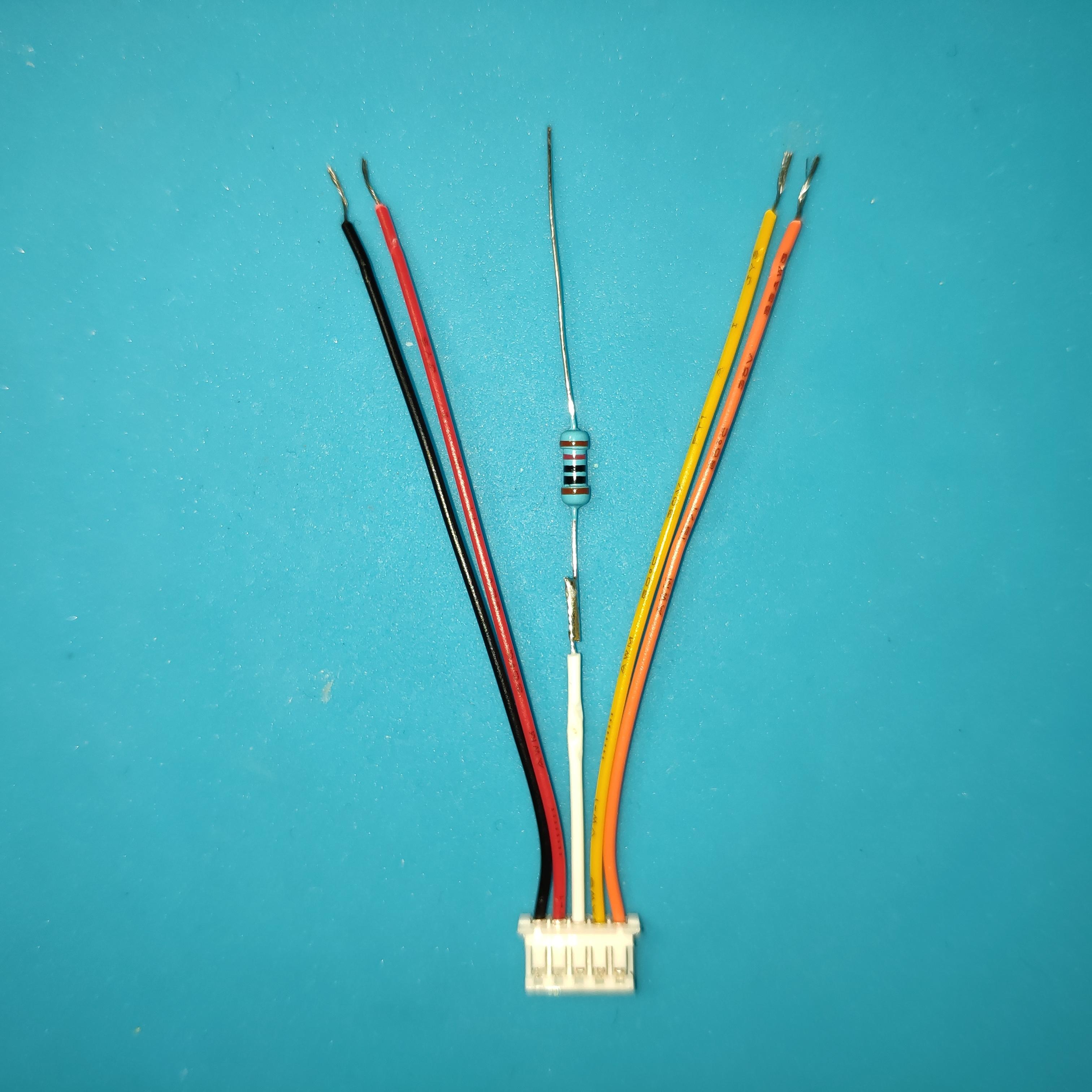 Термистор заменен на резистор 10 кОм