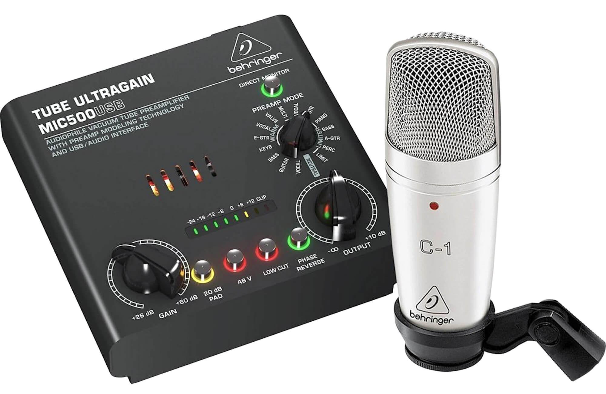 Комплект для записи Behringer VOICE STUDIO — Audiomania.ru
