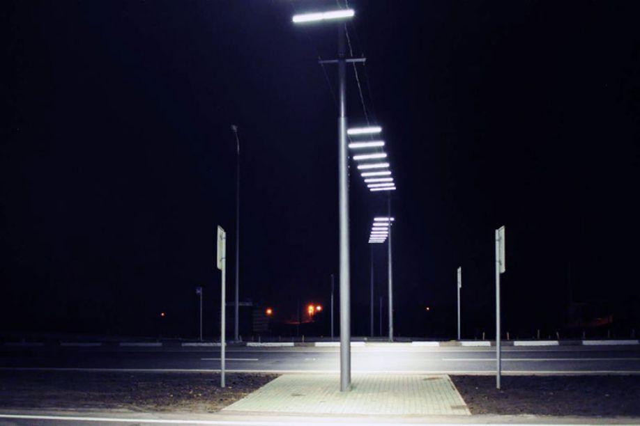 Подсветка перехода в Красноярске: такие