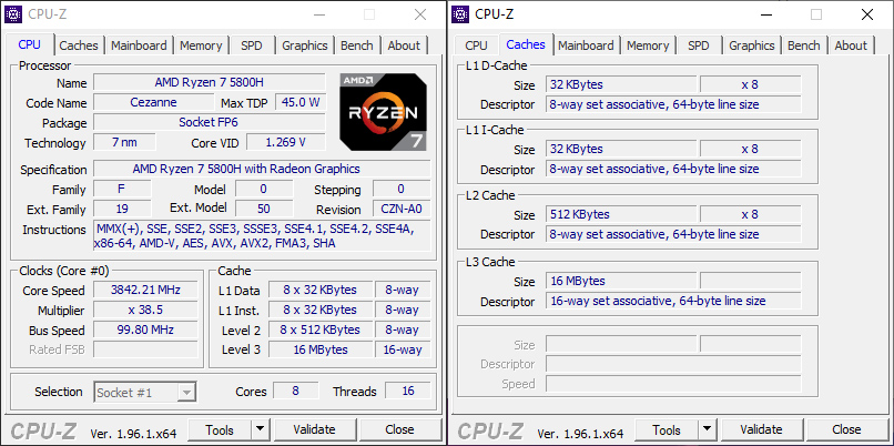 Процессор ROG Strix G17