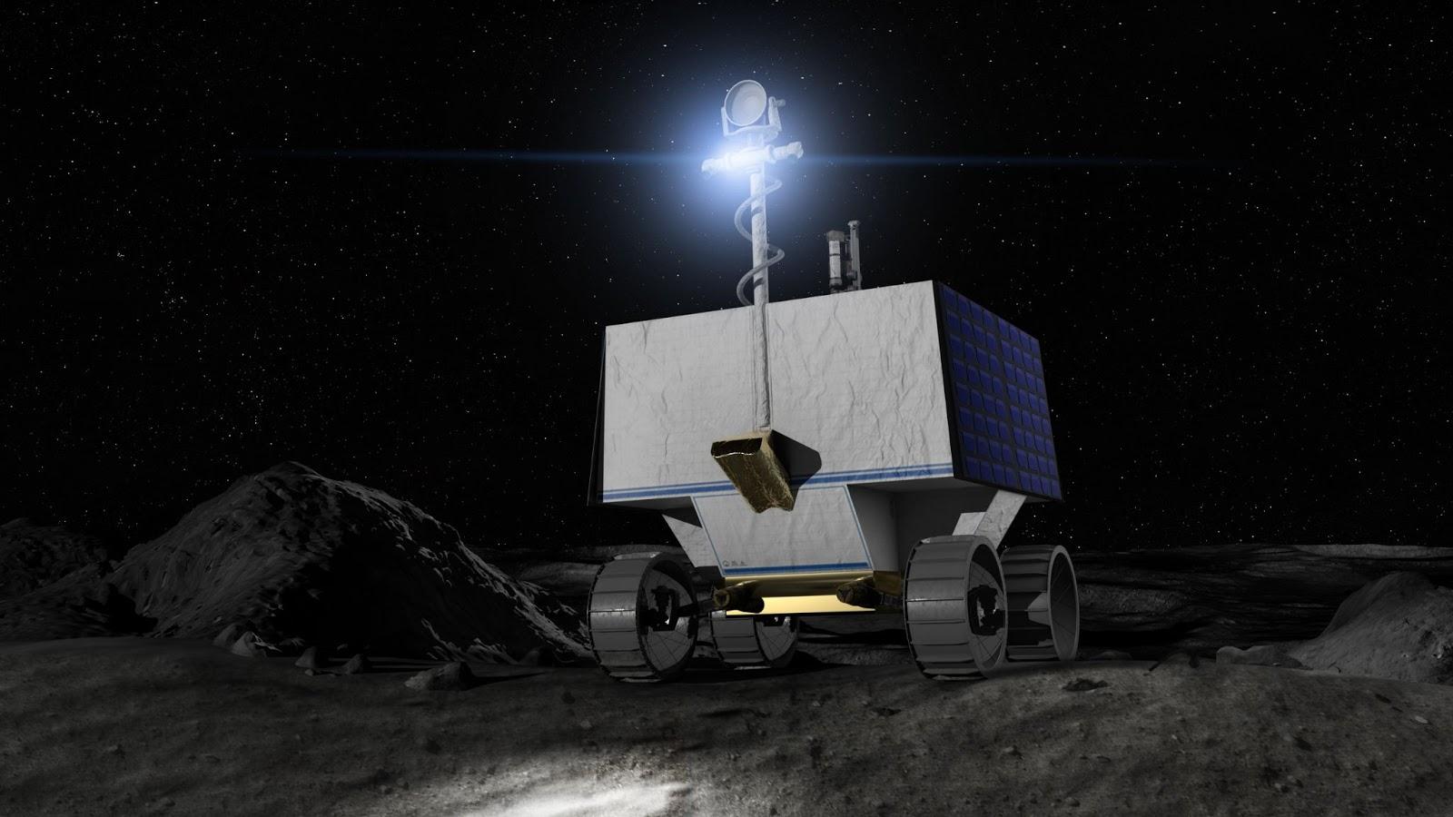 В поисках воды НАСА отправит ровер VIPER на Луну для исследования водяного льда в 2023 году