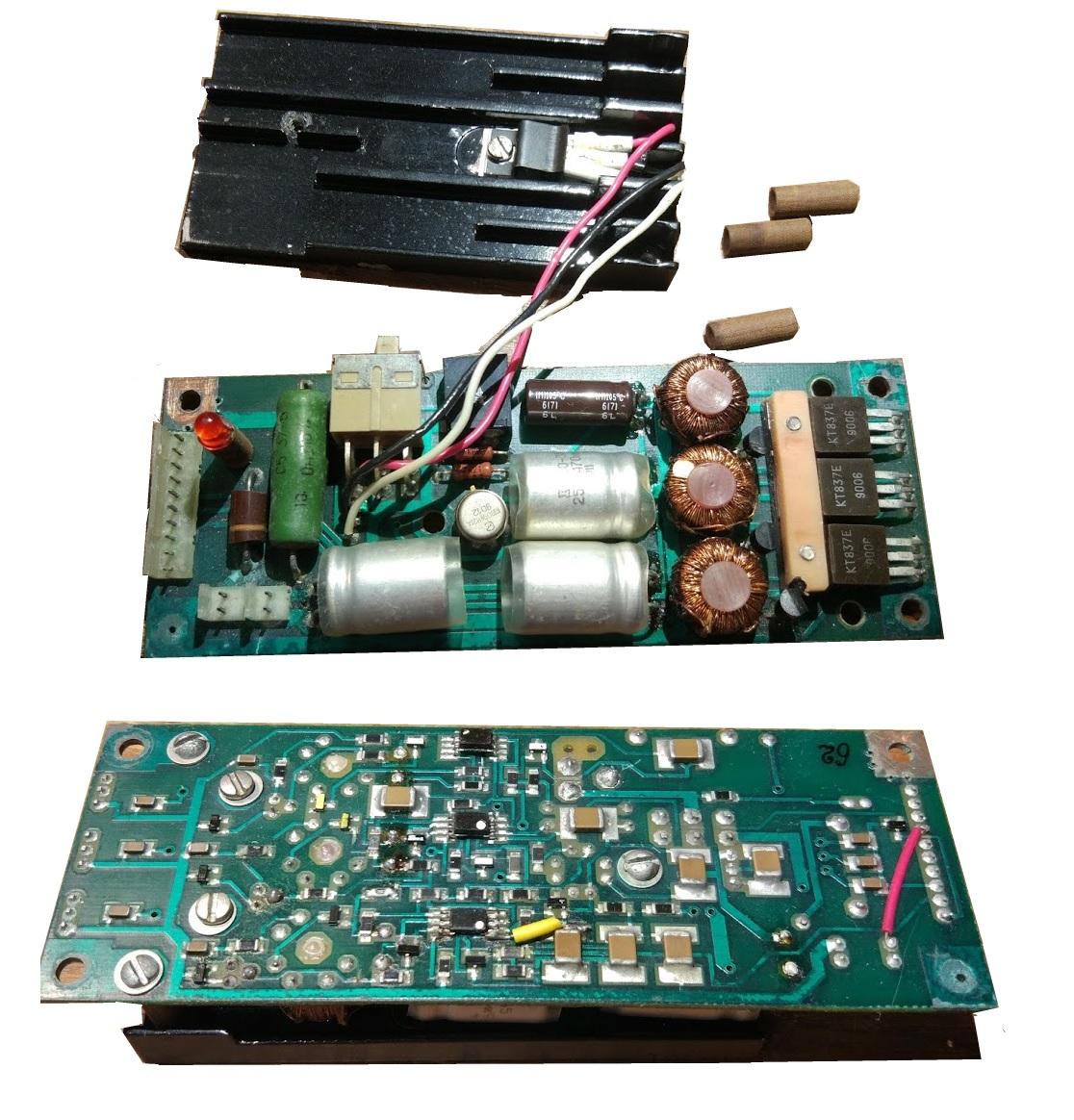 Вариант опытного стабилизатора или из ранних партий ноутбука, фото Byteman, ноутбук из коллекции silensilen