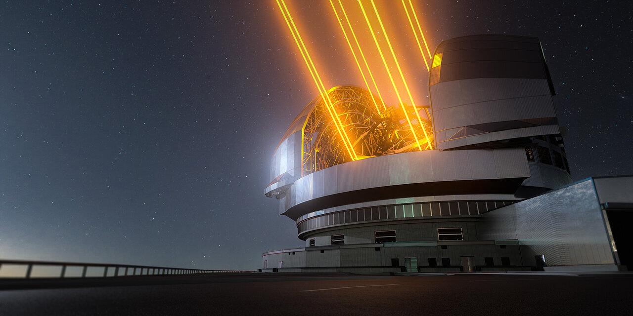 Чрезвычайно большой телескоп (ELT)