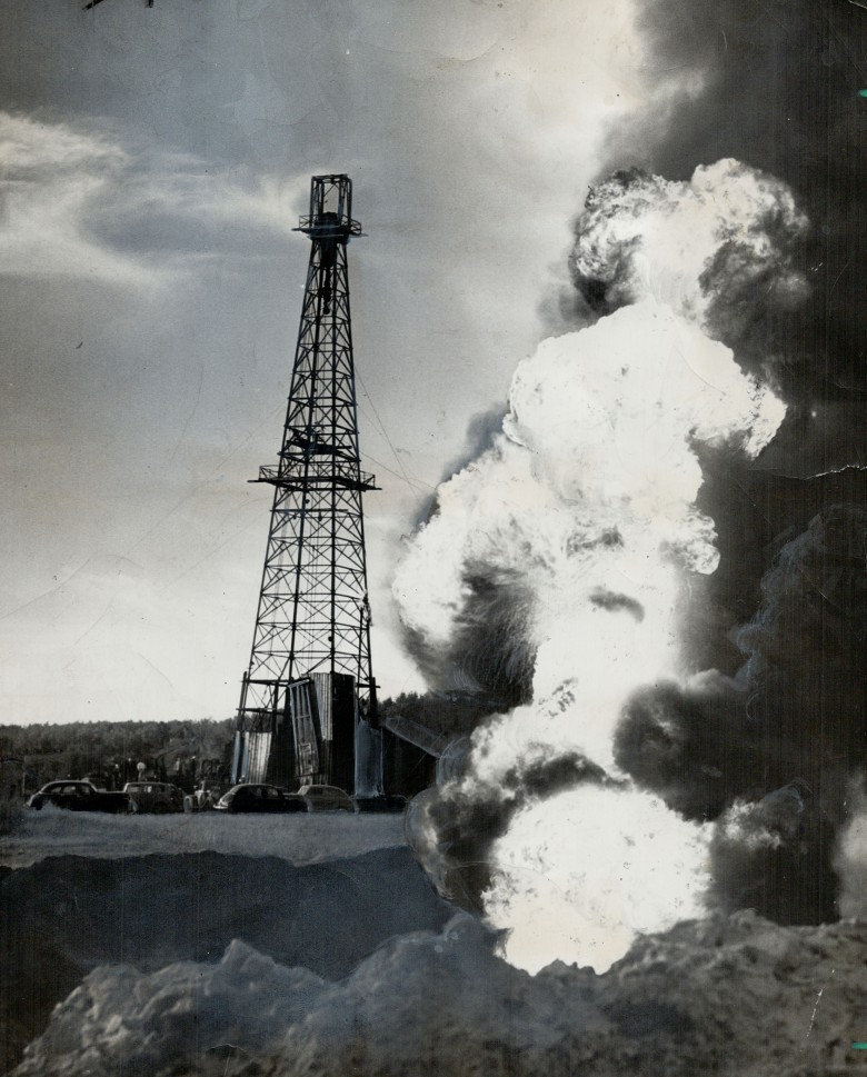 В Канаде собирались добывать нефть с помощью ядерных взрывов
