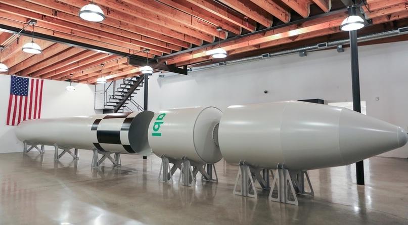 Макет ракеты RS-1 (Источник: ABL)