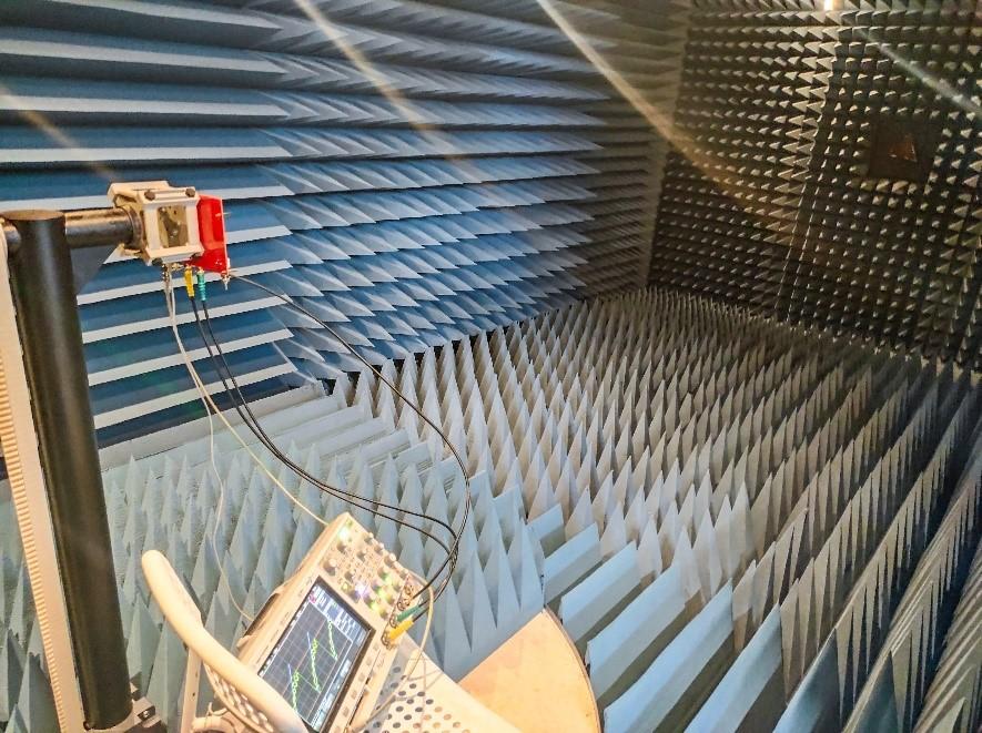 Рисунок 4. Фотография условий эксперимента.