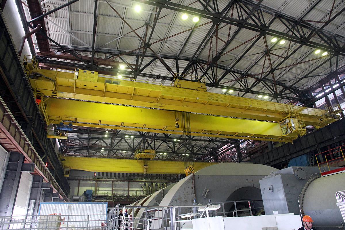 Закрытый машзал самой южной АЭС России - Ростовской. Фото автора, 2017 г.