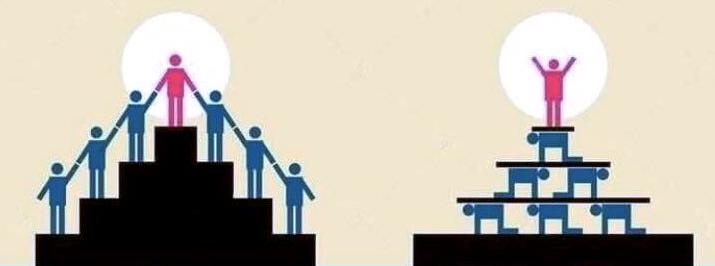 Угадайте, где более здоровая корпоративная иерархия (хотя и не идеальная)
