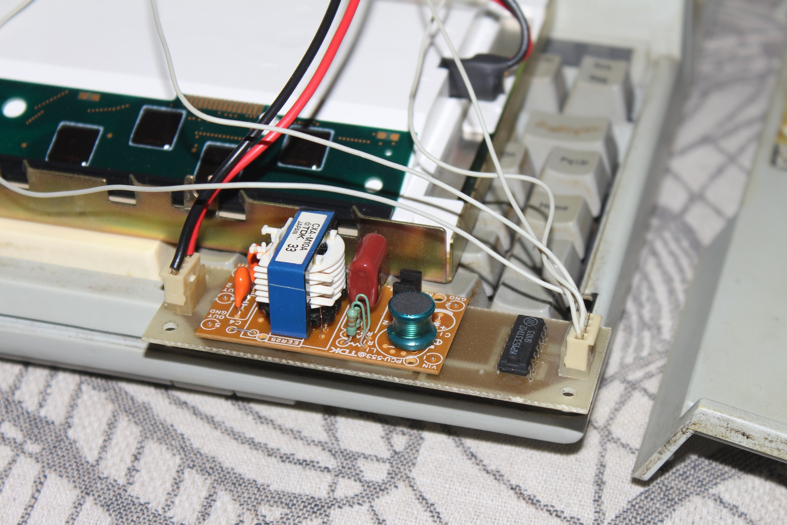 Дисплей Citizen - инвертор лампы подсветки