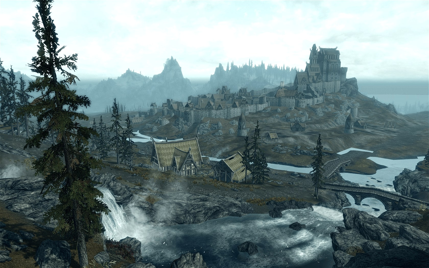 The world of the Elder Scrolls: Skyrim is filled with many points of interest — if you just go in the direction of the nearest landmark tower, you can stumble upon something interesting