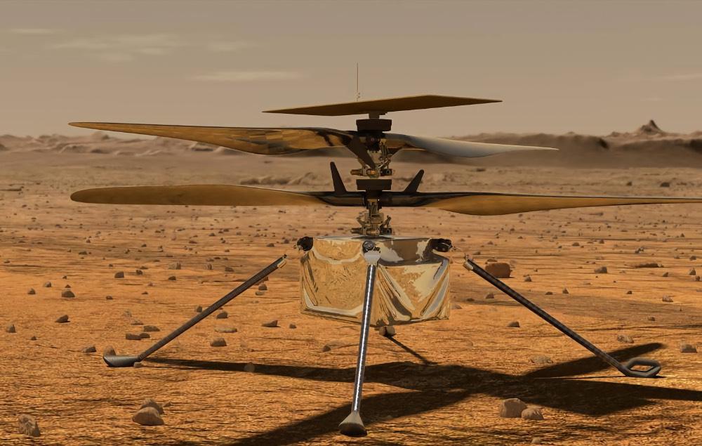 Перевод Знакомьтесь, первая вертушка на Марсе. Что же делает её такой изобретательной