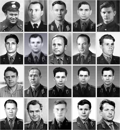20 человек - первый отряд космонавтов