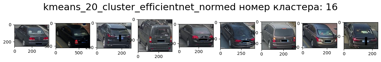 Кластер 16 т.-серый, зад, влево, седан.