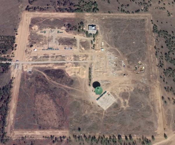 Изображение Google Earth участка 8282/3 на НИП-13 под Улан-Удэ (снимок сделан 6 июля 2019 г.).