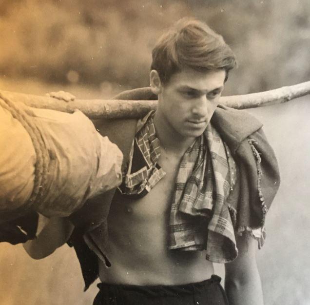 В спортивном лагере, 1966 год