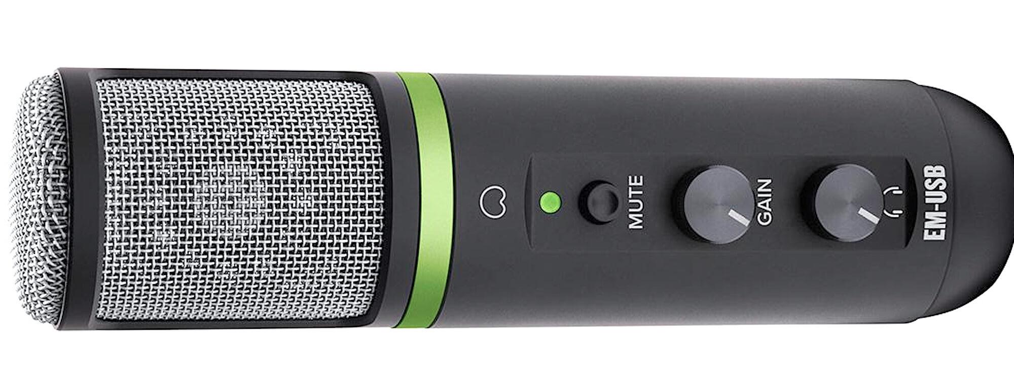 Конденсаторный USB-микрофон EM-USB — Audiomania.ru