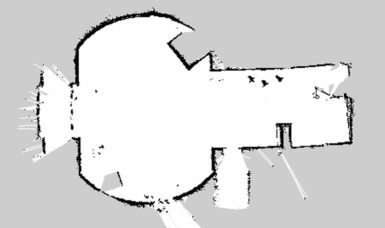 Рисунок 2 – Карта Gmapping