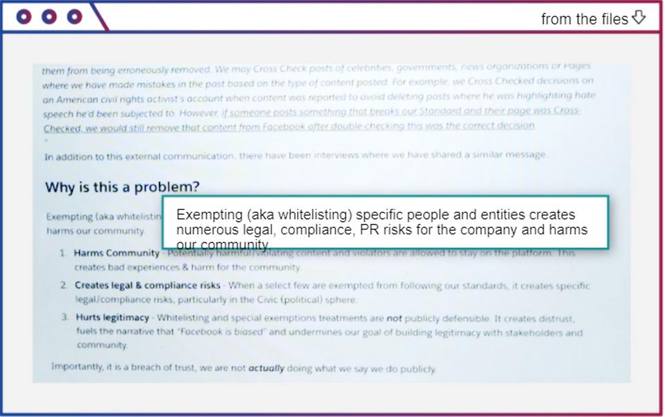 Внутренний обзор программы XCheck в Facebook / WSJ