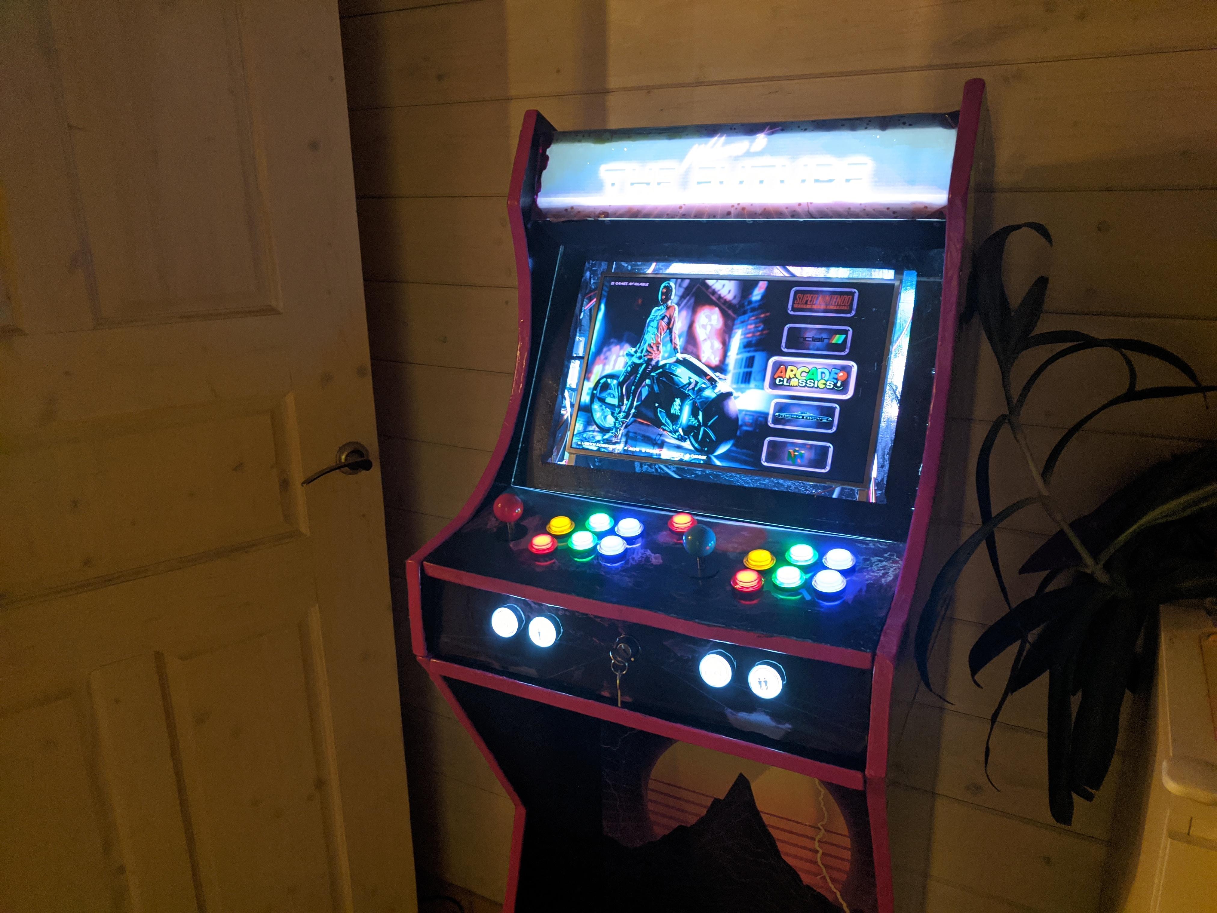 аркадный игровой автомат что это