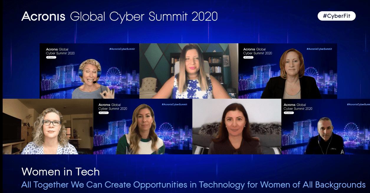 Women in Tech at #AcronisCyberSummit